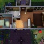 Starter Homes Floor Plans Simple House Designs Sims Storey