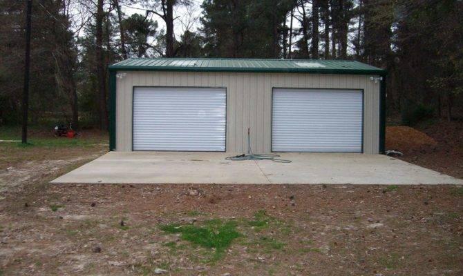 Steel Metal Car Garage Building Kit Workshop Barn