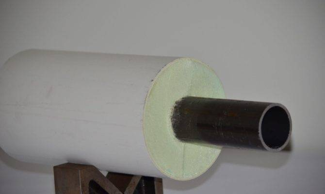 Steel Std Pvc Carrier Casing Pre Insulated Pipe