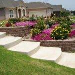 Steep Sloped Back Yard Landscaping Ideas Front