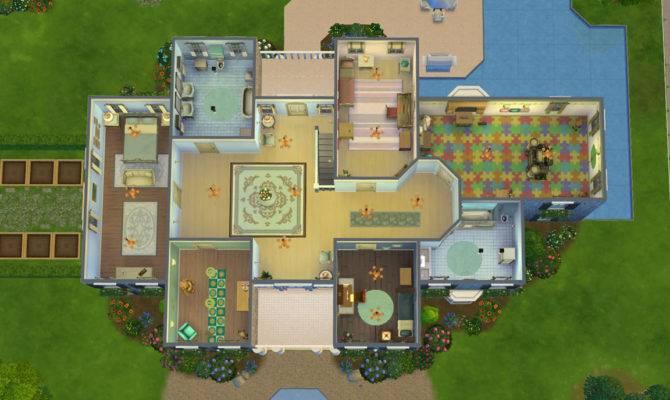 Stepford Mansion Sims