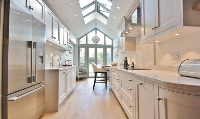 Steps Create Galley Kitchen Designs Theydesign