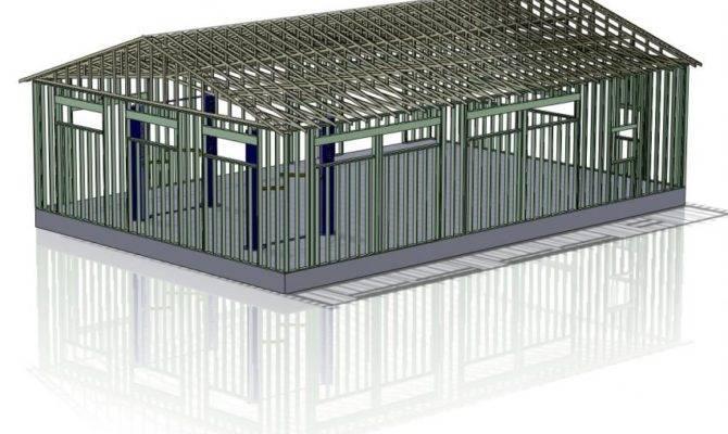 Stick Built Garage Truss Design Joy Studio Best