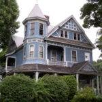 Stick Style Gables Rounded Tower Turret Wrap Around Porch
