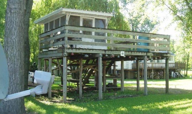 Stilt Cabins Carolsadventures Blogspot Birds Boats