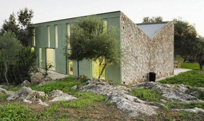 Stone Farmhouse Home Design Rustic Cottage Style