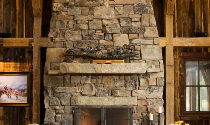 Stone Fireplaces Cozy Warm Stylish Element