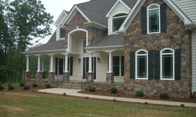 Stone Front Homes Home Design