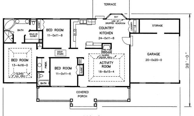 Stone House Floor Plans Woodideas