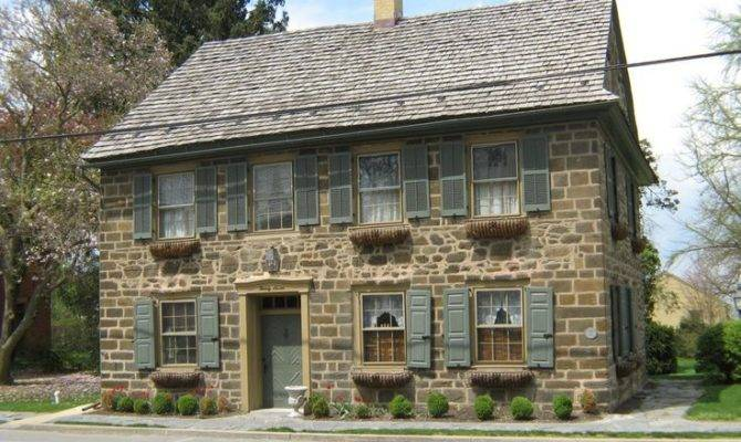 Stone House Houses Pinterest