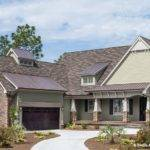 Stone Metal Roof Accents Dongardner Plan