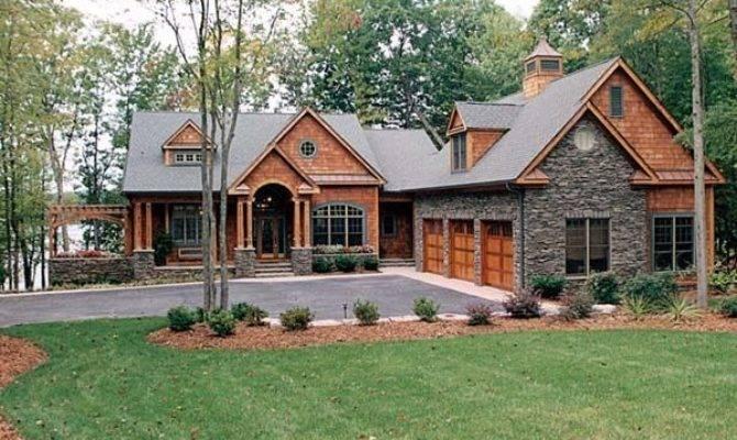 Stone Siding Cedar Shakes Blend Beautifully Together
