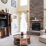 Stone Story Fireplace Dream House Pinterest