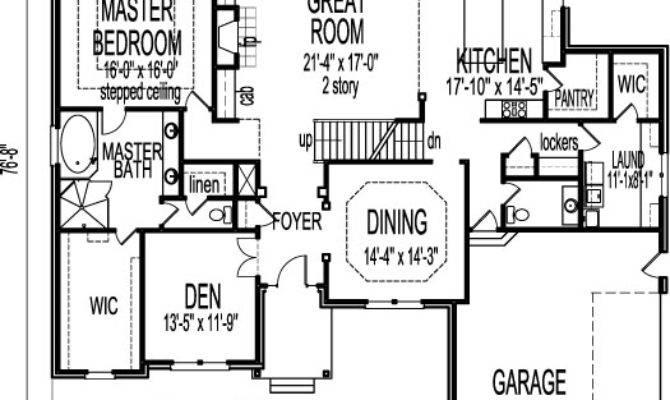 Stone Tudor Style House Floor Plans Drawings Bedroom