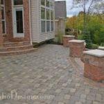Stone Walkout Basement Patio Garden Landscape Design