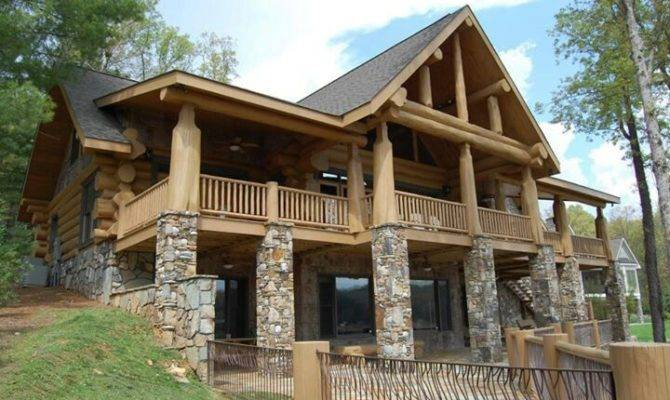Stone Wood House Other Weird Side Pinterest Houses