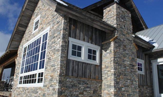 Stoneyard Natural Stone Siding Architecture February