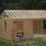 Storage Shed Building Plans Blueprints