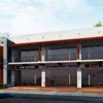 Storey Commercial Building Design Philippines Proposed