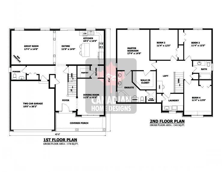 Storey House Designs Floor Plans Home Plans Blueprints 59040