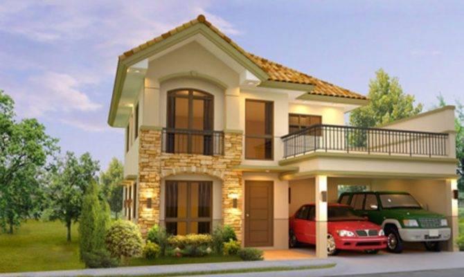 Storey House Plans Philippines Blueprint Modern