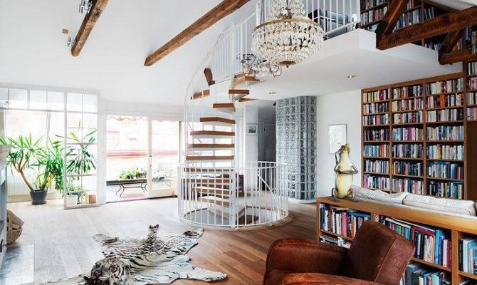 Storey Loft Style Home Sweden Interior Design Files