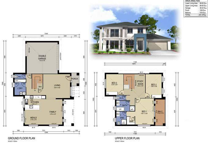 Storey Modern House Designs Floor Plans Philippines Home Plans