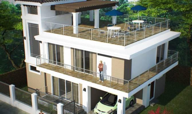 Storey Roof Deck Bantay Ilocos Sur