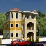 Storey South Indian House Design Kerala Home