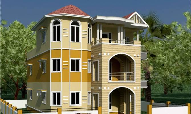 Storey South Indian House Design Kerala Home