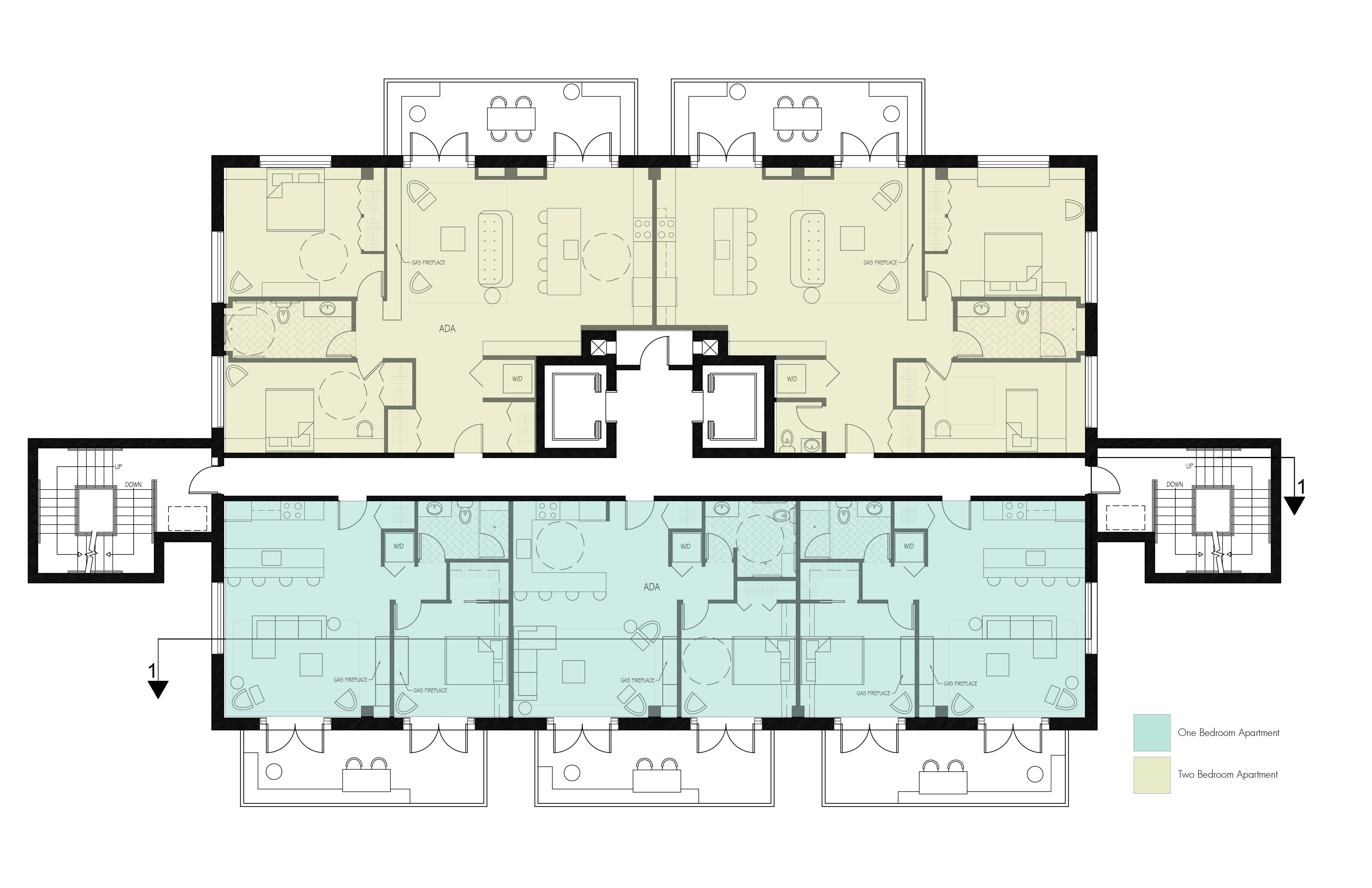 Story Apartment Building Plans Joy Studio Design Best - Home Plans