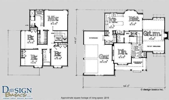 Story Bedroom House Floor Plans Awesome