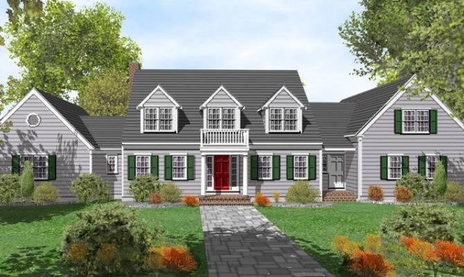 Story Cape Cod House Plans Sale Original Home
