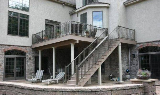 Story Deck Designs Custom Two Twisted Spindles