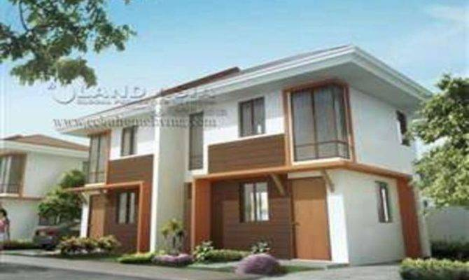 Story Duplex House Plans Philippines