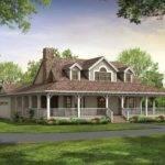 Story Farmhouse Wrap Around Porch Square Feet Bedroom