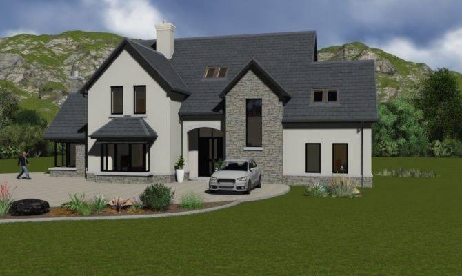 Story Half House Plans Ireland