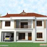 Story House Elevation Kerala Home Design Floor