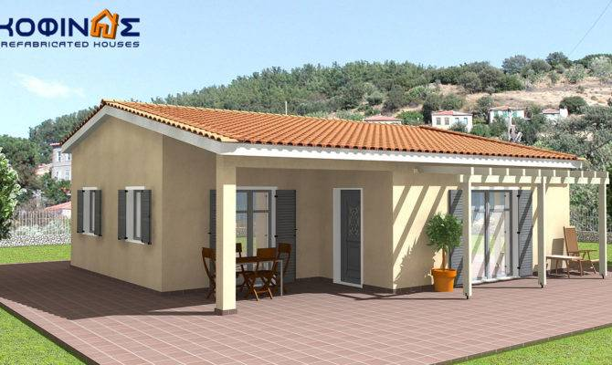 Story House Kofinas Prefabricated Houses Greece