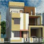 Story House Plan Design Feet Kerala Home