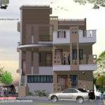 Story House Plan Elevation Kerala Home Design