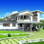 Story House Plan Kerala Home Design Floor Plans