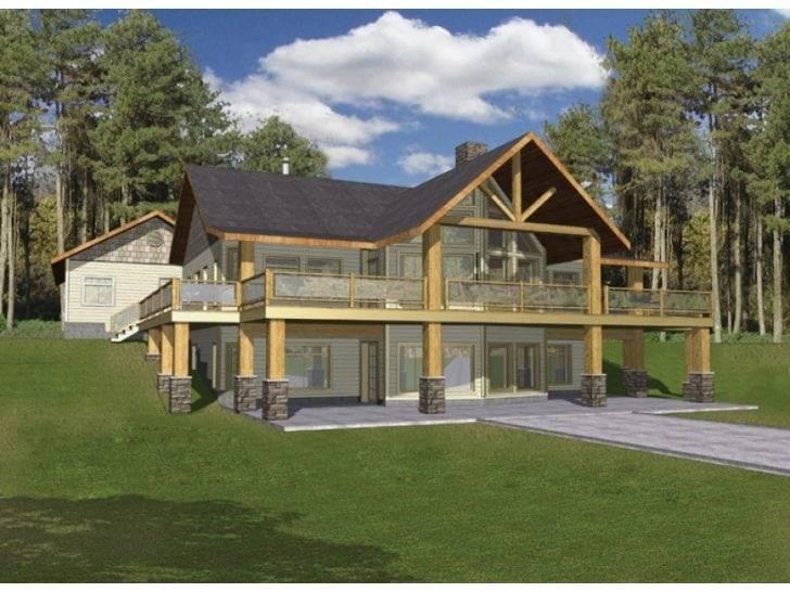 Story House Plans Walkout Basement Archives New