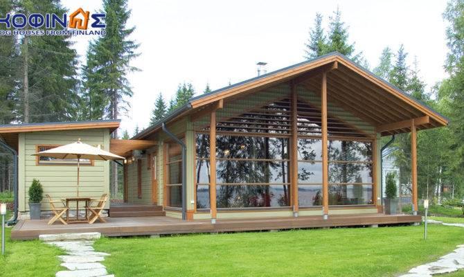 Story Log House Kofinas Houses Finland