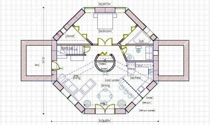Story Octagon House Plans Joy Studio Design Best