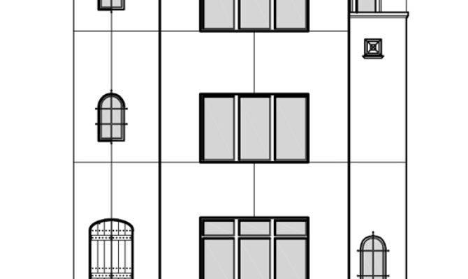 Story Townhouse Floor Plan Sale