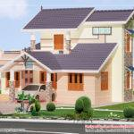 Story Villa Elevation Design Kerala Home