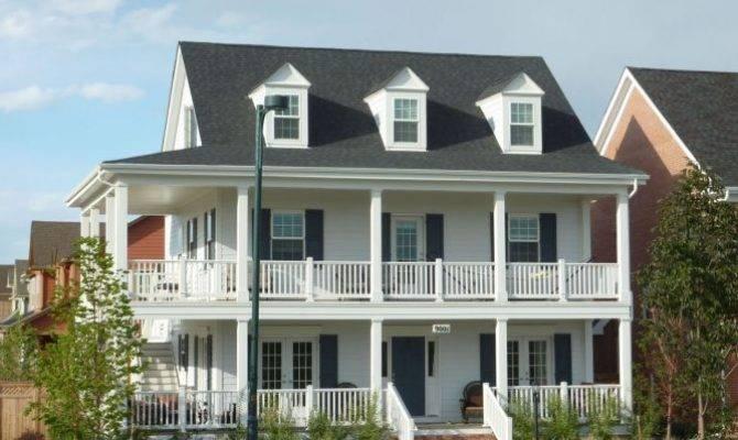 Story Wrap Around Porch Veranda Dream Home
