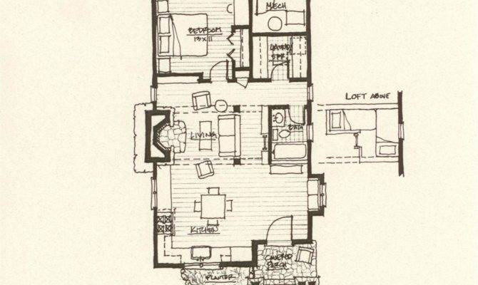 Storybook Cabin Plan Mountain Architects Hendricks