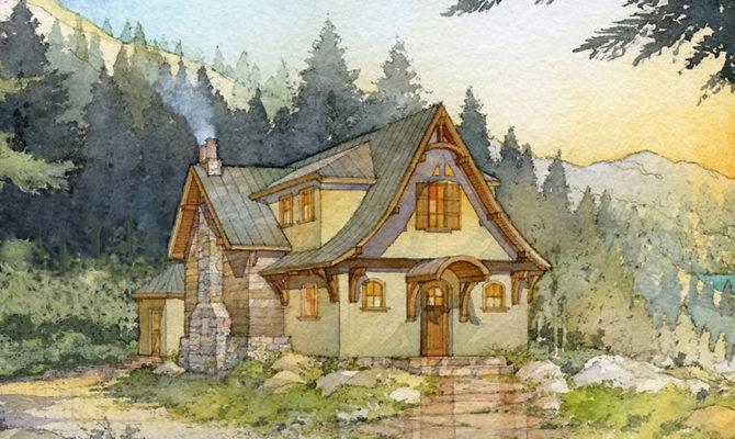 Storybook Home Plans Floor
